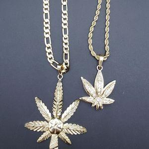 Leaf necklaces gold plated Brazilian 14k stamped n